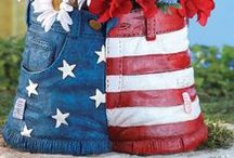 4th of July DIY Ideas & Gifts / Sharing DIY 4th of July party ideas, diy home decor and party ideas, and red, white, and blue food creations.  #july4th #4thofjuly #diy #party #celebration