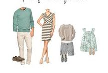 Clients: What to Wear ~ Spring/Summer / Some great inspiration for your Sprint/Summer Family Photography Session