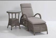Loungestoelen/ligbedden / Heerlijk genieten van uw tuin in een echte kwaliteit loungestoel. Laat u inspireren!