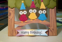 Cards I've made from pintrest / by nicole