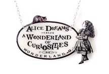 Crazy About Alice in Wonderland / A collection of Alice in Wonderland, Cheshire Cat, Queen of Heart, Late White Rabbit and all things inspired and related to this surreal childrens story. / by Melissa Kojima