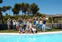 Yoga & Fun activity / Yoga Breaks in Spain - Fun & Activities www.yogabreaks.org.uk www.facebook.com/yogabreaks