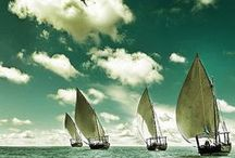 come sail away / by Cali Clark