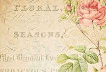 Cartões e Etiquetas Shabby e Vintage - Post cards and Labels