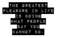 Brilliant quotes / by Britt Spring