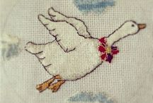 Embroidery  / Embroidery ideas, projects, artists.