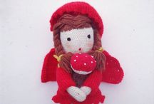 Handmade toys / My toys are handmade with crochet, knitting, embroidery...