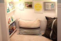 Canto de Leitura para Crianças - Reading Corner for Children