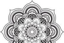 Mandalas para Colorir - Mandalas to Color