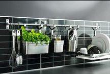 Ideias de Organização para a cozinha - organizing ideas for the kitchen