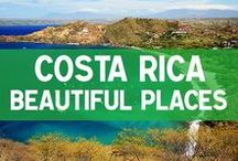 Beautiful Places in Costa Rica / Photos of beautiful places to visit in Costa Rica: beaches, jungle, mountains, volcanoes and more.