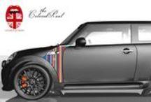 MINI Wing Designs / Wer seinen MINI perfekt in Szene setzen und mit einem persönlichen Detail versehen möchte, wird von dieser Vielfalt der angebotenen MINI Wings begeistert sein. Flaggen, unterschiedliche Motive und Farben präsentieren sich im Sortiment für MINI Wings und lassen jeden MINI Cooper zu einem individuellen Auto werden.  / by WrapArts