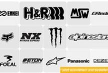 Sponsoren Aufkleber / Größte Auswahl an Sponsoren Aufklebern in vielen verschiedenen Materialien, Farben und Größen auf www.wraparts.com/sponsoren / by WrapArts