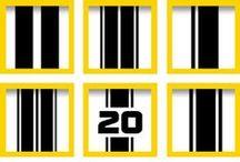 Rennstreifen / Rennstreifen in allen gewünschten Farben, Materialien und Größen gibt es bei WrapArts.com. Ein Muss für jeden schnellen Fahrer.  / by WrapArts