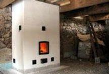 Krosnys / Wood burning masonry heaters (krosnys, pусская печь, pystyuuni, kachelofen, kakelugn), fireplaces, cook stoves, bake ovens and outdoor pizza ovens.