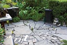 Paving surfaces & inspirational pathways