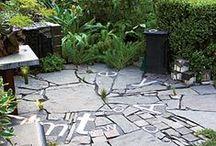 Paving surfaces & inspirational pathways