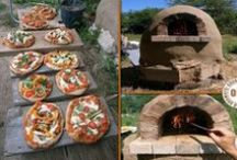 Pizza Oven Ideas / Ideas, inspiration, and plans for building your own outdoor pizza oven. Of course you don't have to just cook pizza and can use them for roasts, breadmaking, and more.