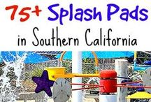 Splash Pads in Southern California / A complete list of fun splash pads throughout Southern California just in time for summer!
