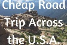 road trip USA / Tips for planning a road trip through the USA and places to go