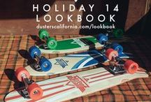Dusters Holiday 14 Lookbook / New Dusters California cruisers and longboards for Holiday 2014