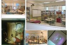 Sala de leitura Clarice Lispector / Um ambiente aconchegante, que inspira leitura em todo tempo.