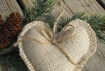 Natural christmas tree decorations
