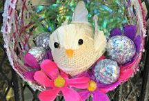 Easter Crafts & Activities for Kids / 100+ Easter Crafts for Kids including toddlers, preschoolers, day care centers and elementary school classes.   Simple and easy for little hands to do.