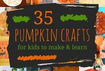 Halloween Crafts for Kids / Hundreds of Halloween Crafts for Kids including toddlers, preschoolers, day care centers and elementary school children.   Simple and easy for little hands to enjoy.