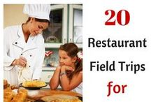 Restaurant Field Trips for Kids / A list of all the restaurants in Southern California and other parts of the United States that offer restaurant field trips for kids.  Most are free or only cost a few dollars.