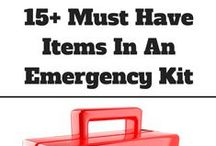 Earthquake Preparedness / How to prepare for an earthquake and what to include in an emergency kit.