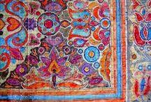 Persian rug and textile -  فرش ایران - Il tappeto volante / Persia Mirabile