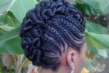 Natural Hair / Different textures of hair in its natural state