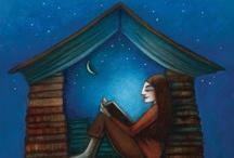 Bookshelves and Reading