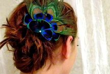 Peacock Themed Weddings / Peacock inspiration for weddings and peacock accessories.