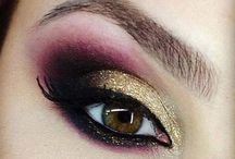 Make-up Tips and Inspiration. / Make-up application, tutorials, ideas and inspiration for special occasions or day to day.