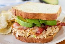Sandwiches, Pitas, Wraps / by Theresa Gustafson-Shimon