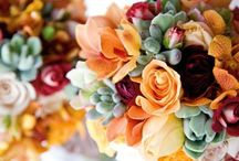 succulent: centerpieces and bouquets / Succulents and cacti as alternative to more traditional wedding flowers