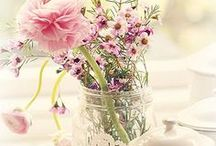 beautiful flowers / gamaakte boeketten en opgemaakte potten