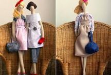 cloth dolls / by mirka