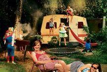 Rapido klapcaravan klap caravan folding camper / Vintage retro caravan