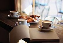 Coffe and breakfast.