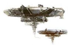 sci-fi ships