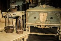 Pretty painted furniture