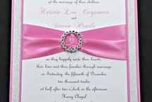 Invitations, Programs and Other Wedding Paperwork. / Wedding Invitations, Save the Dates, Programs, Seating Plans and other paperwork for the choosing.