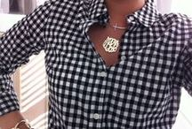 Coaststyle Living-Gingham / Life at the coast..Check it out-#coaststyleliving-an eye for the finer things.