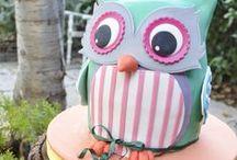 Owl Cake & Inspiration