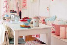 ❤Shabby, Cottage & Retro Kitchen❤ / Shabby Chic & Country Cottage decor