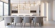 interiors: living space / kitchens