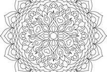 Printable Mandalas to Color - Free / Free printable mandala coloring pages.  All of these pins are checked for ACTUAL printable pages or images. :)